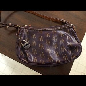 Authentic Dooney & Bourke 1975 Pouchette Demi Bag